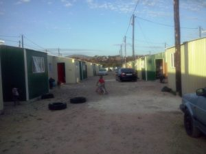 The Bromwell Road families do not want emergency temporary housing in Wolwerivier.