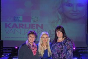 Sonja Smith (links) en Karlien van Jaarsveld. Foto: www.causes.com