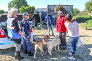 Pedro Wilson aka Bokka (rooi), Lizette Pietersen, Shaun Abrahams op agtergrond. Foto's: Marnette Meyer