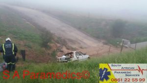 This morning's accident on the N7. Photos: South African Paramedic Services