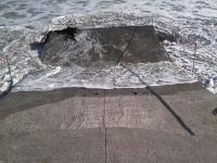 Big Bay Slipway Collapsed