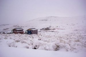 The Afriski Mountain Resort currently looks like this.