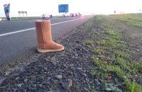 A woman died crossing the N7, Philadelphia. Photo: ER24