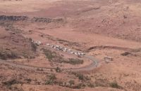 The scene of the disaster. Photo: ER24