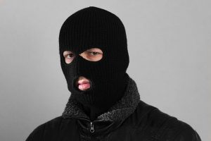 The three men wore balaclavas, gloves and dark clothing. Photo: Wikipedia.org