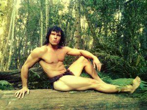 DeWet du Toit, South Africa's own Tarzan. Photos: Provided
