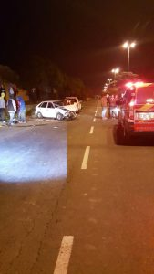 The accident scene in Ravensmead. Photo: ER24