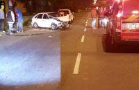 The accident scene in Ravensmead. Photo: ER24