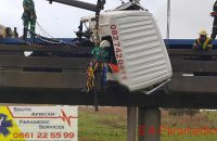 The rescue operation underway. Photos: South African Paramedic Services