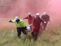 Emergency personnel at work. Photos: ER24