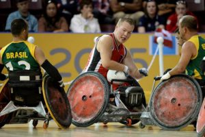 Wheelchair Rugby at the Rio Paralympics. Photo: Paralympic.org