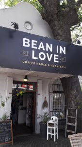 Anita loves relaxing at Bean in Love in Paarl.