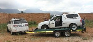Drug mule: inside the Corsa was concealed heroin valued at R4.3 million. Photos: SAPS
