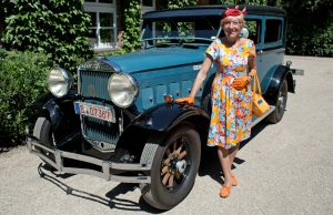 79-Year-Old Heidi Hetzer and 'Hudo.' Photos: heidi-around-the-world.com