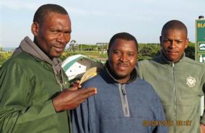 It took three men three months of work to rehabilitate the vegetation.