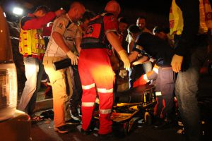 9 People were killed; more than 10 are in a critical condition. Photo: ER24