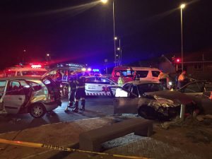 Table View: Community Medics attended to multiple patients. Photo: Community Medics