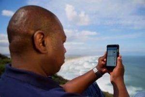 Shark spotters upload information real-time. Photos: Capetown.gov.za