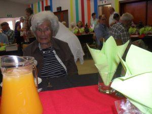 Mabel Simpson turns 100 on 16 December. Photos: Melkbos.net