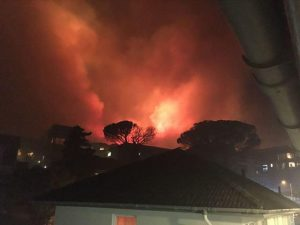A suspicious spate of fires. Photo: City of Cape Town