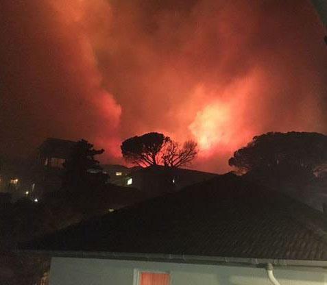 'Suspicious spate of fires'