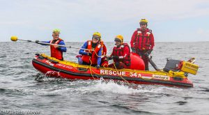 An hours long rescue operation saved two whales. Photos: Marnette Meyer for SA Whale Disentanglement Network (SAWDN).