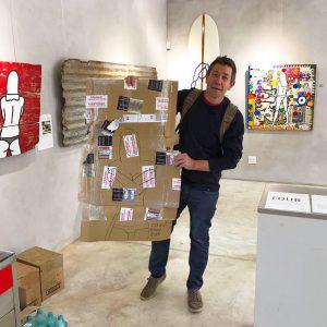 Melkbos artist Richard Scott.