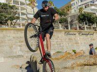 Super Cyclist Ahead!