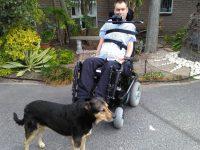 Freddie's Wheelchair