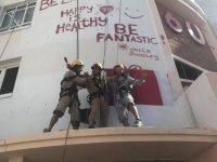 Hospital gets Jolly Paint Job