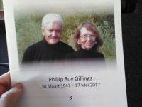 Marlene en Roy Gillings. Foto: Melkbos.net