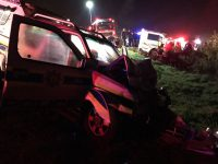Police Vans Collide Outside Melkbosstrand