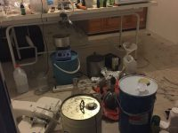 The clandestine laboratory. Photo: Supplied