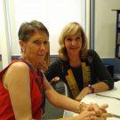 Lynette Stassen (right) and Eileen de Wet. Photos: Melkbos.net